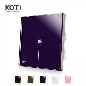 【智生活】KOTI柯帝 智能触摸遥控开关 印象之美系列单路调光控制器(单火取电)