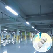 LED灯管  内置半塑半铝人体感应灯管