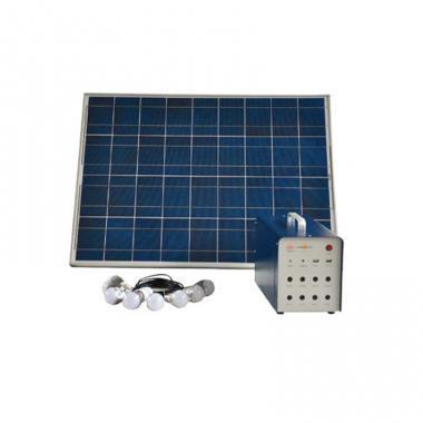 太阳能照明系统离网独立光伏发电蓄电池储能