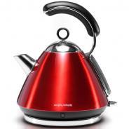 摩飞(Morphyrichards) MR7456  电热水壶  电水壶 炫彩不锈钢电热水壶 英伦红