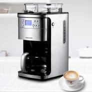 摩飞(Morphyrichards) MR4266 不锈钢 磨豆机 咖啡机 咖啡壶 多功能咖啡机