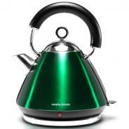 摩飞(Morphyrichards) MR7076 电热水壶 电水壶炫彩不锈钢电热水壶 水壶 翡翠绿