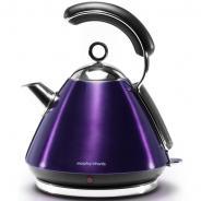 摩飞(Morphyrichards) MR7456 电热水壶 电水壶炫彩不锈钢电热水壶   水晶紫