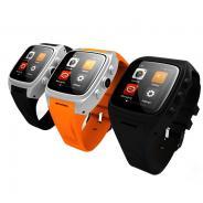 勒沃(Leevoo)V8 安卓智能手表 手机wifi无线智能手环运动健康计步器腕表防丢器