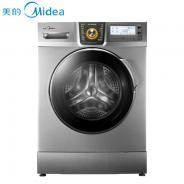 美的(Midea) MG80-1411LDPCS 8公斤 变频滚筒洗衣机(银色) 智能洗涤