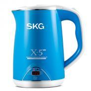 SKG全不锈钢电热水壶(3段保温-1.5L)