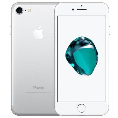 数码通讯苹果*APPLE iPhone 7 银色 4.7寸 移动联通电信全网通4G手机