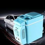 7L车载冰箱冷暖箱车家两用迷你小冰箱制冷冷藏12v接点烟器插头