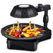 金正红外线电烤炉无烟烤肉机家用韩式电烤盘烤串烤肉盘电烤箱包邮