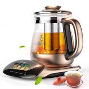 金正养生壶   正品 全自动加厚玻璃花茶壶电煎药壶煮茶器