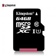 数码通讯金士顿64g内存卡储存sd卡高速tf卡Class10 64g手机内存卡SDCX1064g