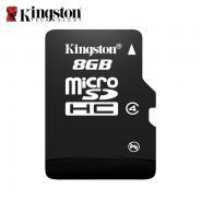金士顿8g内存卡tf卡micro储存sd卡tfSDC48g手机内存卡