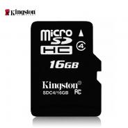 数码通讯金士顿16g内存卡tf卡micro储存sd卡tfSDC416g手机内存卡